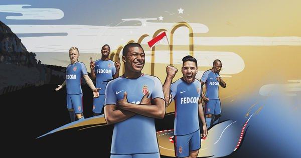 Monaco Away kit 2017