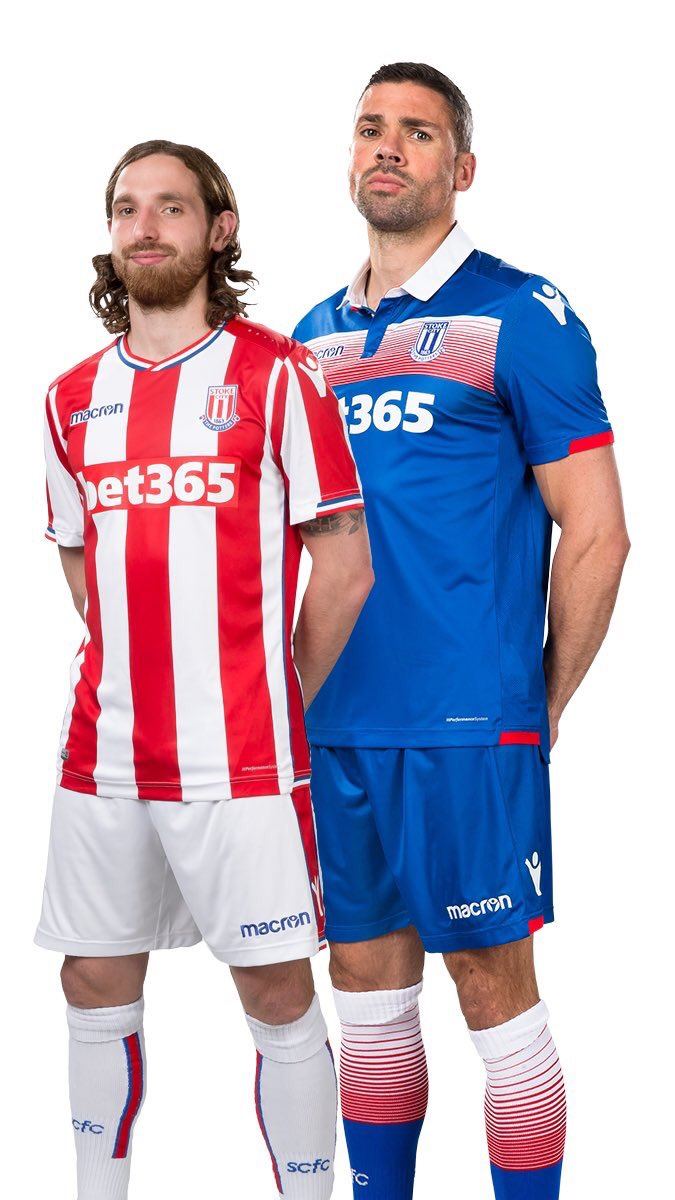 Stoke City Away and Home KIt-2017