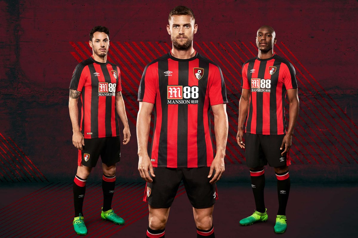 Afc Bournemouth Home Kit 2017-18