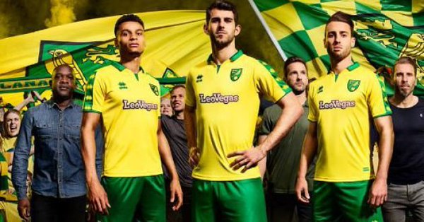 Norwich Home KIt 2017-18