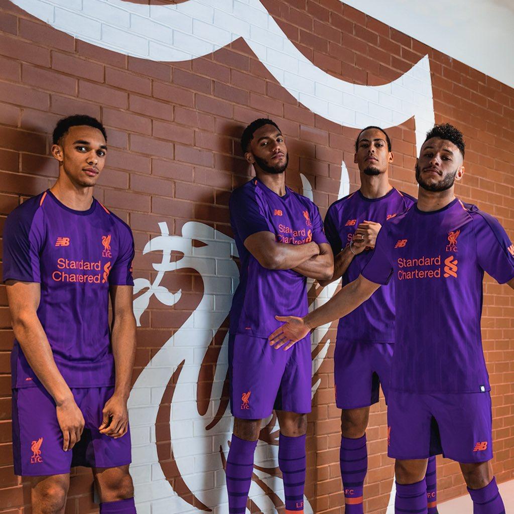 New Liverpool Away Kit-2018